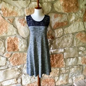 NWT Anthropologie Lilka Navy Lace Dress